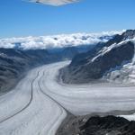 Glacier d'Aletch (août 2011)